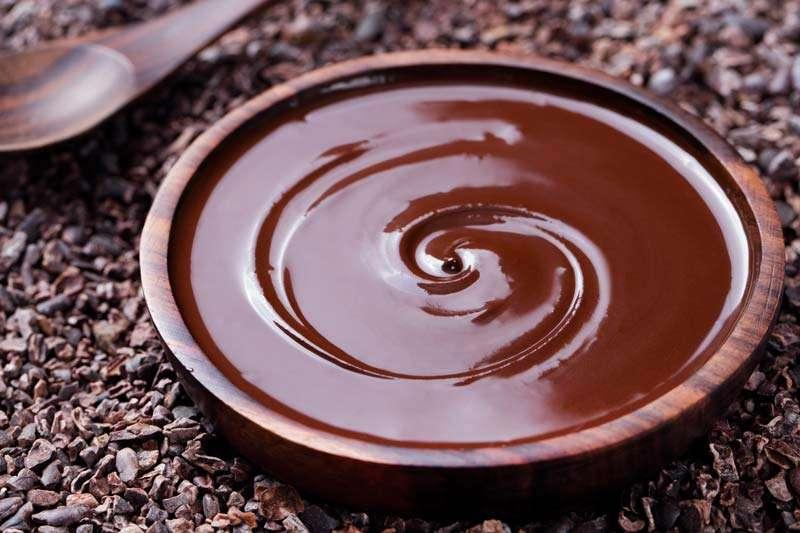 chocolade voor de chocoladefontein